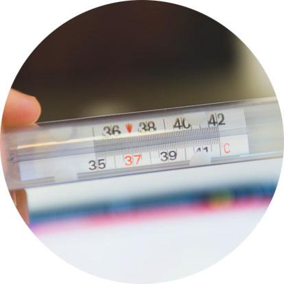 Ein Thermometer für die Wärme-/Kälteanwendungen | Physioteam in Reburg Loccum